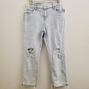 NWT Old Navy Destroyed Boyfriend Jeans J95